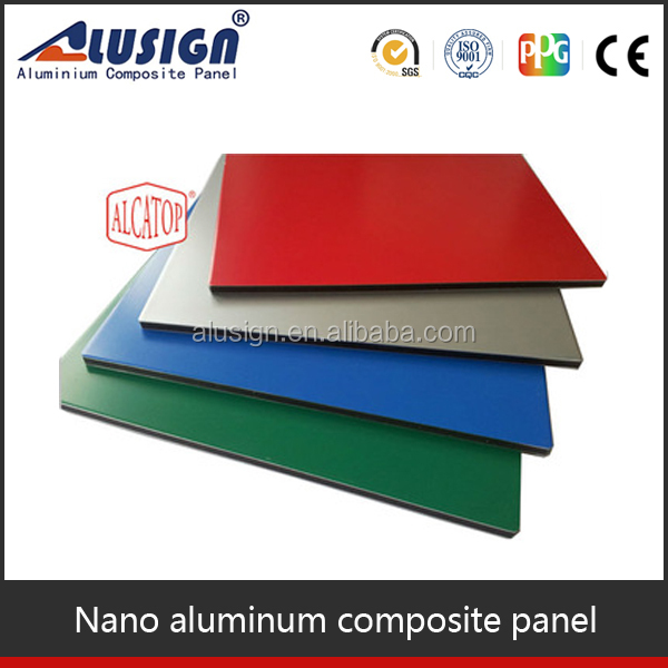 Alusign 20 years guarantee saudi arabia manufacturer sandwich panel for wall decorative