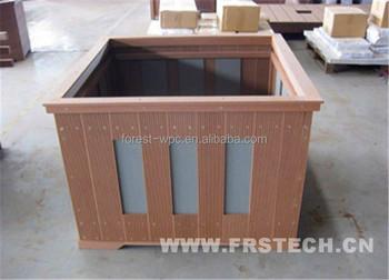 400x390x400mm Frstech Wooden Planters For Plants Alibaba Different Types  Wooden Garden Flower Pot Cheap Garden Planters