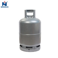 Yemen hot sale welded steel low pressure good quality 12.5kg lpg empty gas cylinder cooking with certification