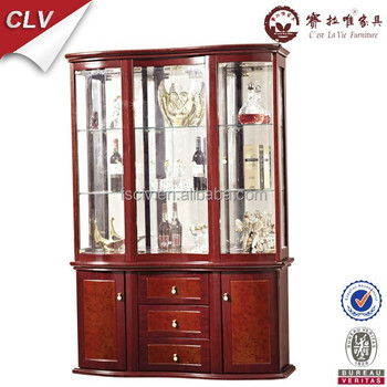 glass showcase designs for living room. Vintage furniture glass living room showcase design wood  View