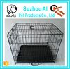 Double Door Folding Coated Steel Wire Dog Crate for Sale Dog Cage