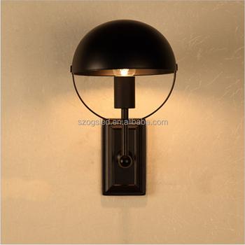 Industria Lámpara Negro Buy Vintage Edison Globo E27 Luz Apliques Bombilla Hierro De Decorativo Uplight Pared Hotel Jaulas N80wPOkXnZ
