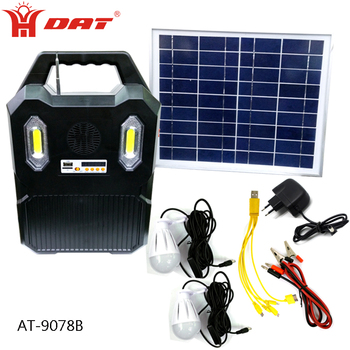 Portable Solar System For Usb Charge And Lighting Kit With Mp3 Radio Function View 12v Led