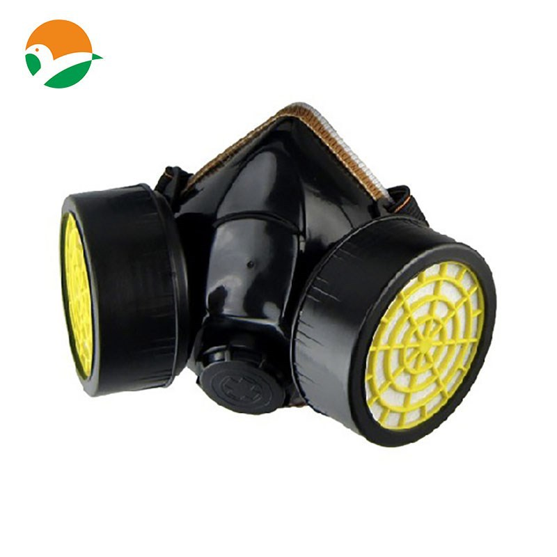 Protective Respirator,Half Face Gas Mask With Goggles,Dust