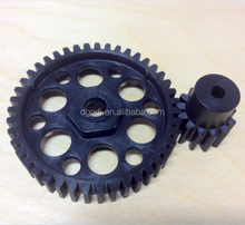 OEM customized high quality plastic large spur gear