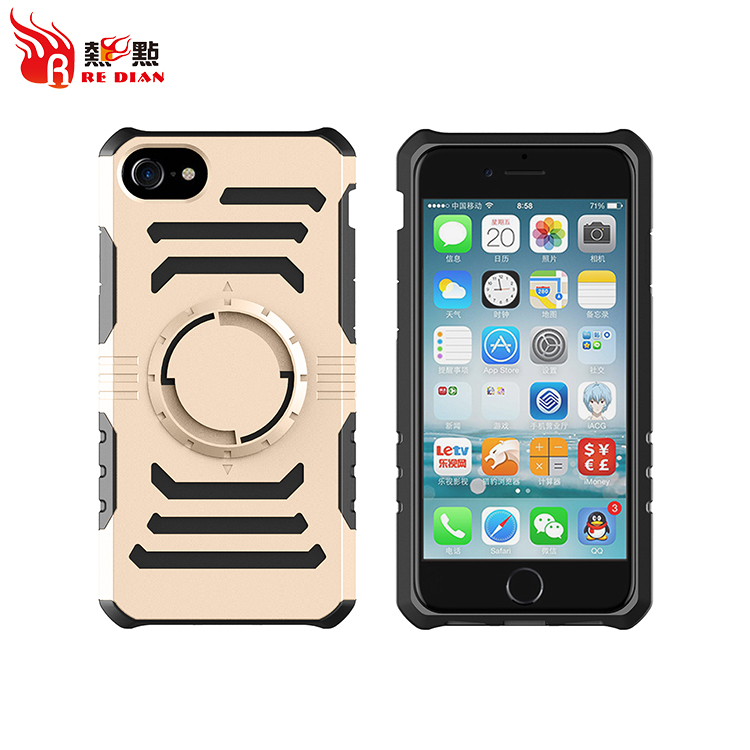 VIP USA client favor Factory Price TPU PC high quality cell phone case Cover For iPhone 7