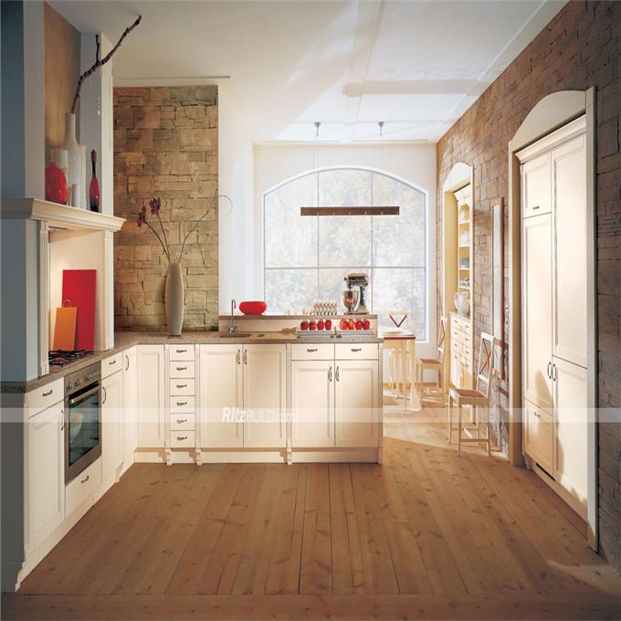 Aluminiumrahmen Küchenschrank Tür Mit Gehärtetem Glas Moderne Küche ...