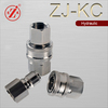 ZJ-KC stainless steel high flow pressure water hose car washer quick coupling