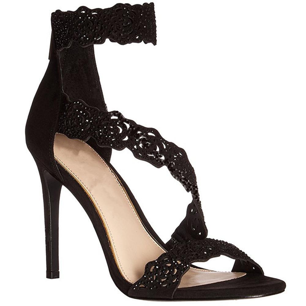 b14beca7a78bd Fancy Ladies Summer Shoes Bridal Gladiator Sexy High Heels Crystal Sandal