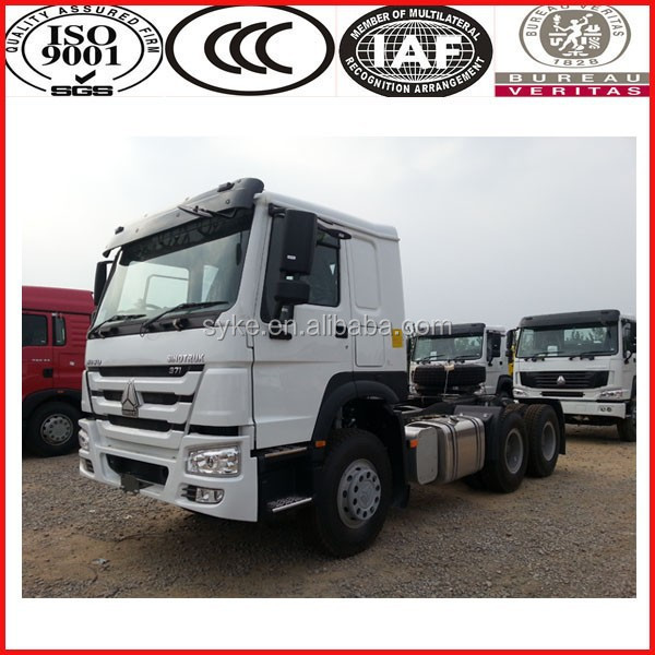 Can work more than 20 years! ! !SINOTRUK HOWO camion 6x6 tractor truck