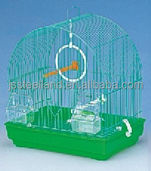 durable weld wire powder coated small bird cage