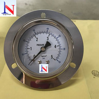 Stainless Steel Back Type Pressure Gauge