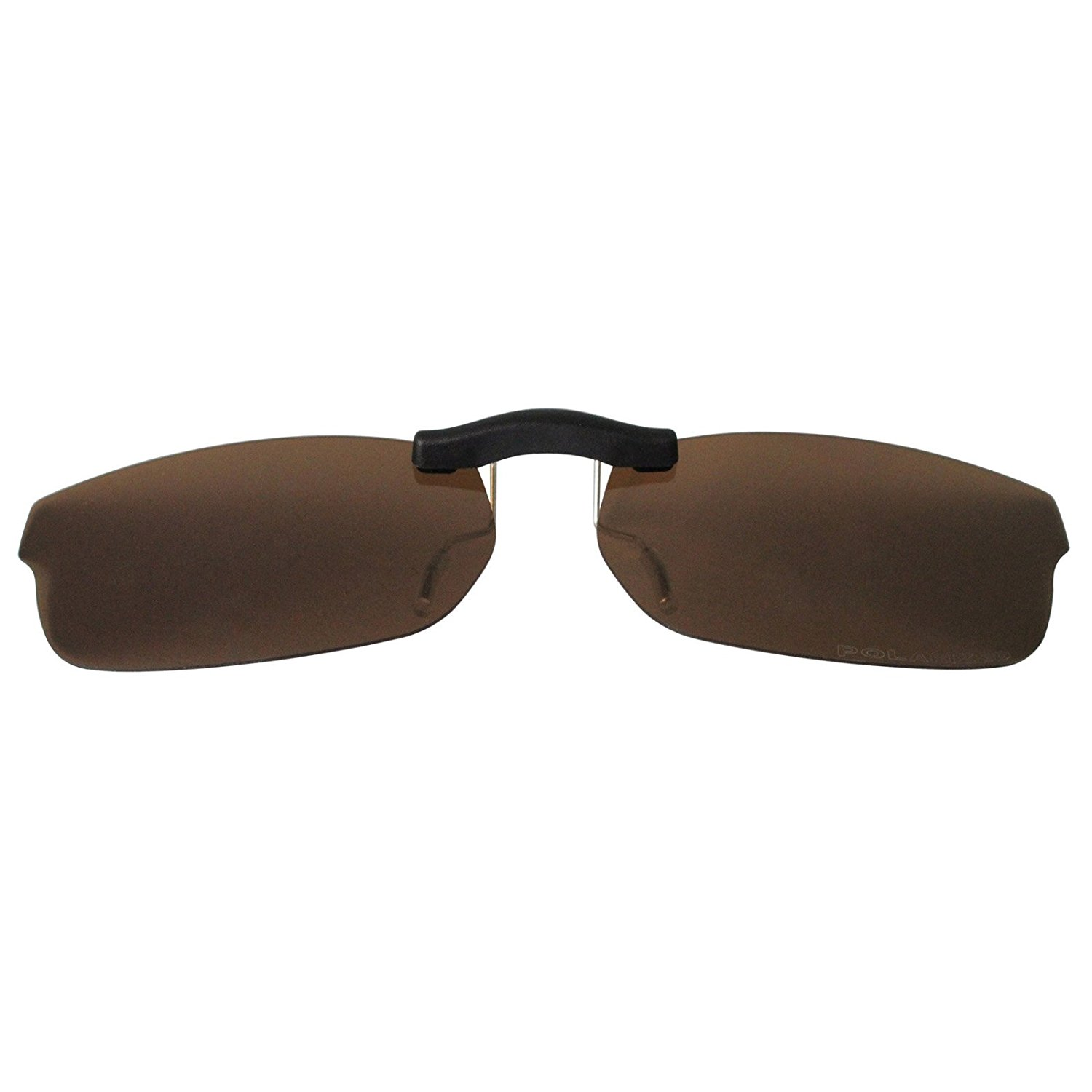 c8cf460120c Get Quotations · Custom Polarized Clip On Sunglasses for Ray-Ban RB5187  (RX5187) 52x16(No
