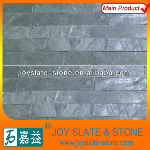 Black Wall Cladding Schist stone tile
