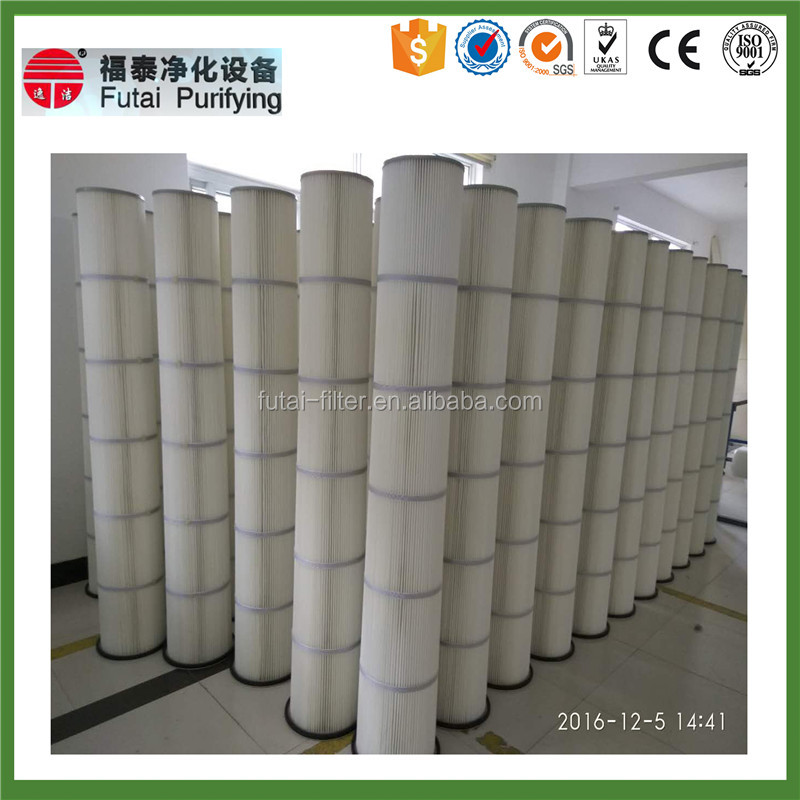 FUTAI High Efficient Industrial Cylindrical And Conical Intake Air Filter