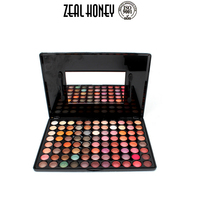 Zealhoney OEM Cosmetic Makeup Private Label 88 Colors Eyeshadow Palette Eye Shadow