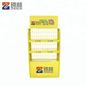 Supermarket display rack tire display stand