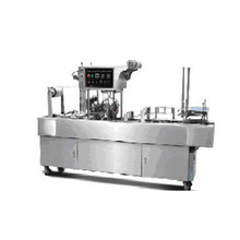 Automatic high speed plastic cup lid sealing machine manufacturer for Fruit Juice Yogurt Jelly