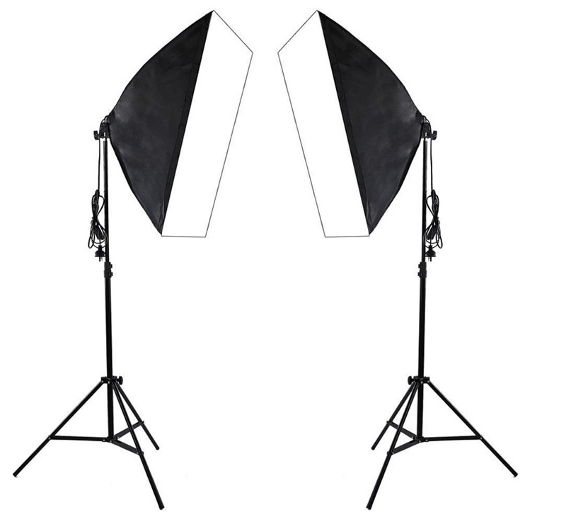 Professional photography 50X70CM softbox photo studio light set