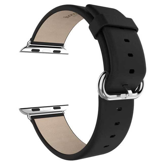 Яблоко часы спорт издание 38 мм группа носо оригинальные премиум мягкая кожа запястье классический ремень с 2 блока питания
