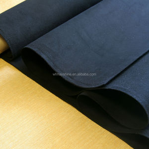 Suede Leather Real Microfiber Leather for Shoes Lining Bags Belts