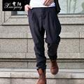 HOT 2016 New spring casual pants skinny pants men s clothing harem pants fashion loose Low