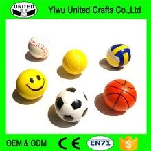 Hot Sales Promotional Pu Stress Tennis Ball High Quality Foam Stress