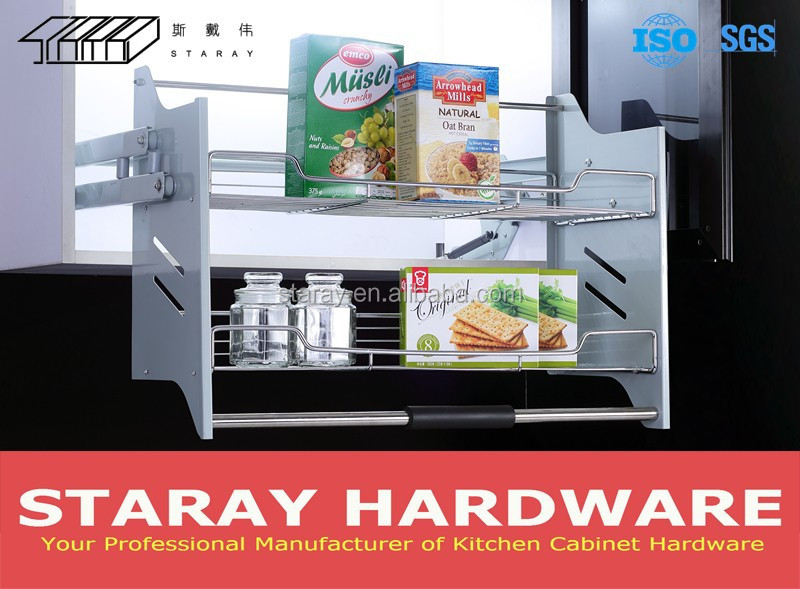 Kitchen Cabinet Pull Down Shelves Part - 17: Hpja701 Kitchen Pull Down Pantry Organizer - Buy Pantry Organizer,Pull Down  Pantry,Pull Down Shelf Product On Alibaba.com