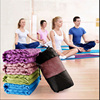 Eco-friendly Cotton Non-slip Thicken Yoga Mat Towel with Mesh Bag