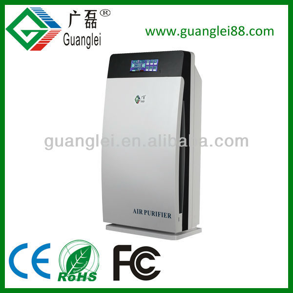 CE ROHS FCC 8 in 1 Home / Office / Nano TiO2 UV Air Purifier Ionizer and Oxygen generator