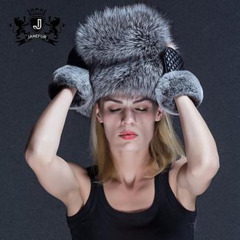eaf468872 Genuine Silver Fox Fur Women Open Top Warm Russian Style Fur Hat - Buy  Russian Style Fur Hat,Warm Hat,Open Top Hat Product on Alibaba.com