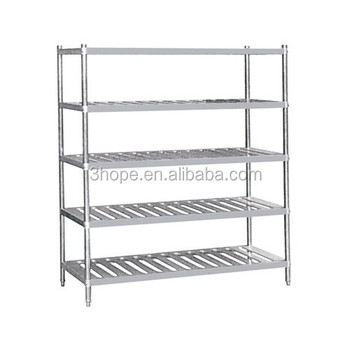 Kitchen Shelving/four Layers Farge Size Restaurant Kitchen Stainless ...