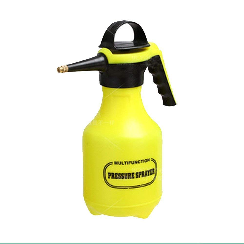 Yeefant 1 Pcs 2L Pressure Type Thickening Pneumatic Watering Can Head Irrigation Pot Flower Sprayer WITH Large Capacity Home Gardening Tool,0.98x0.53 Ft