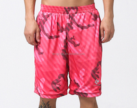 Hot-Selling Camouflage Design Mens Sports Basketball Shorts Guangzhou Clothing