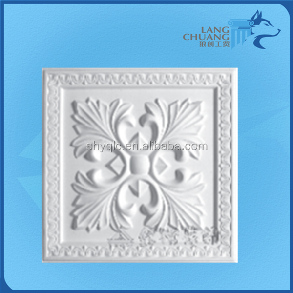 Indoor Gypsum Unique Design Fiberglass Plaster Decor Wall Art Relief