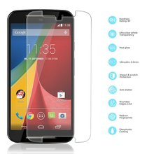 Front Premium Tempered Glass Film Thin 0.3mm Screen Protector  For Motorola MOTO G2 G3