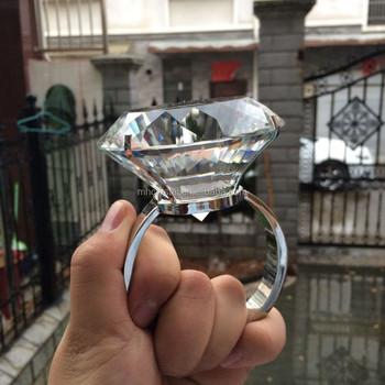 Large Glass Diamond Ring Napkin Holder Mh 00167b Buy Decorative Napkin Holdernapkin Rings For Weddingsclear Glass Wedding Rings Product On