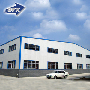 fabricated two story steel structure warehouse building with isolation