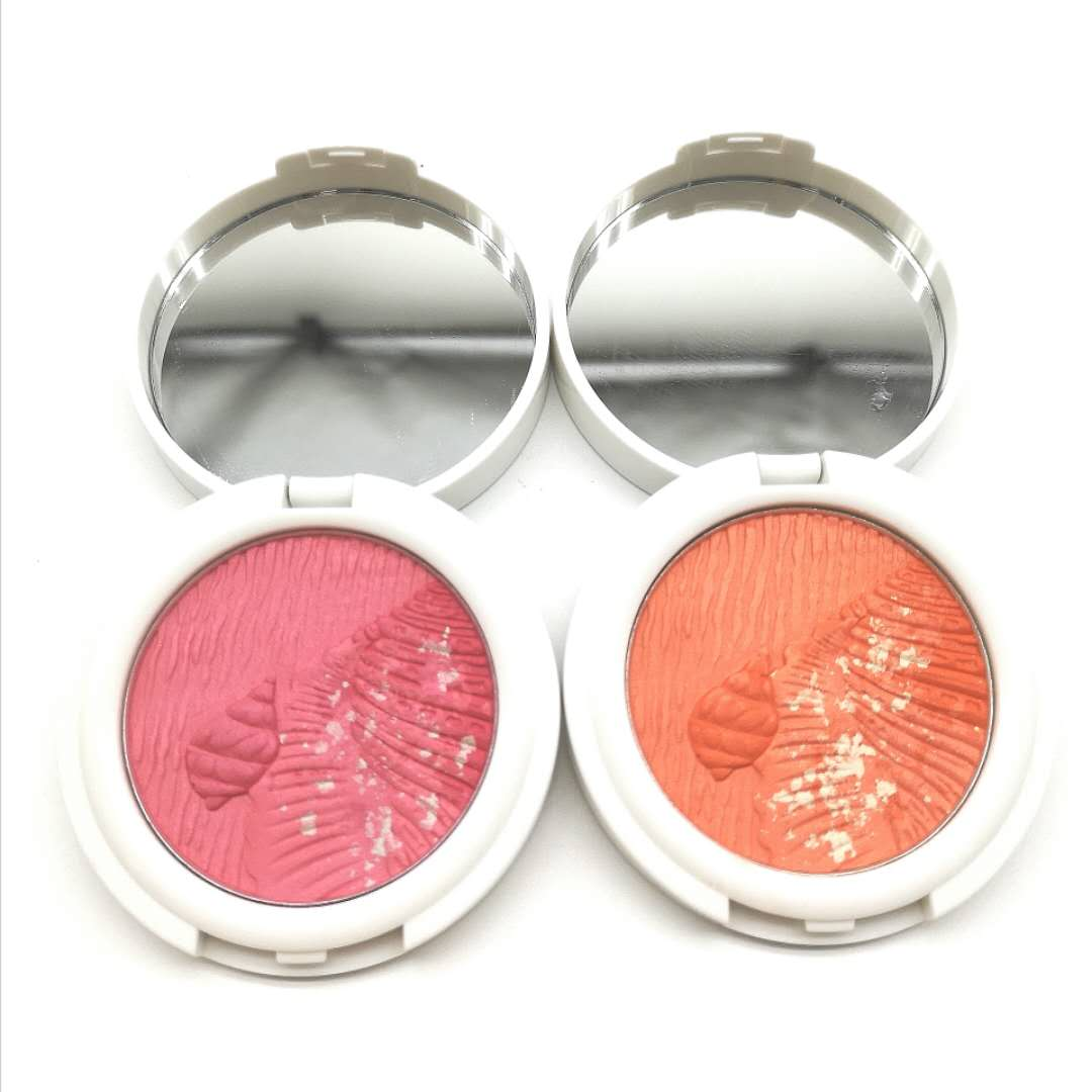 Waterproof Multi Color Cosmetic Make Up Private Label Face Sea Snail No Brand Pink Blush Palette