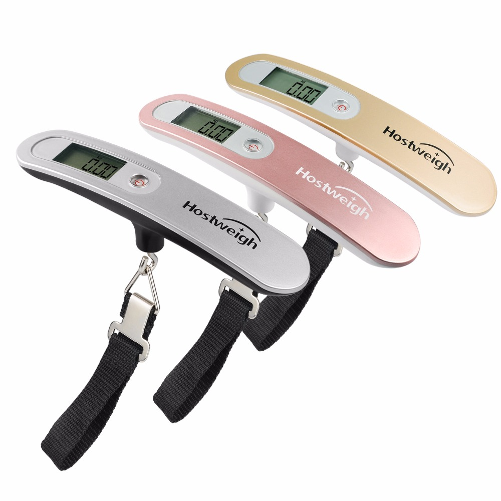 Portable 50KG/10g Digital Luggage Scale for suitcase traveling Electronic Hanging Weight Balance baggage scales Handheld