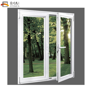 SGS certificated aluminum french window dimensions french casement window design