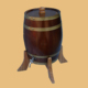 2015 year hot sell approved natural wood wine barrel oak barrel used barrels with stand
