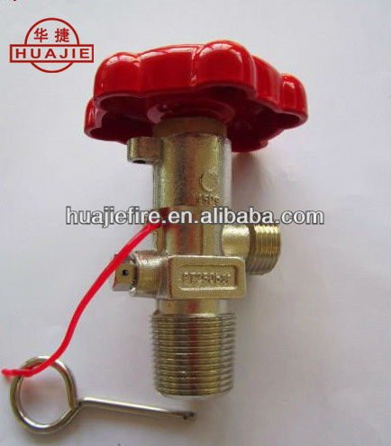 CO2 FIRE EXTINGUISHER VALVE WITH CE CERTIFICATE