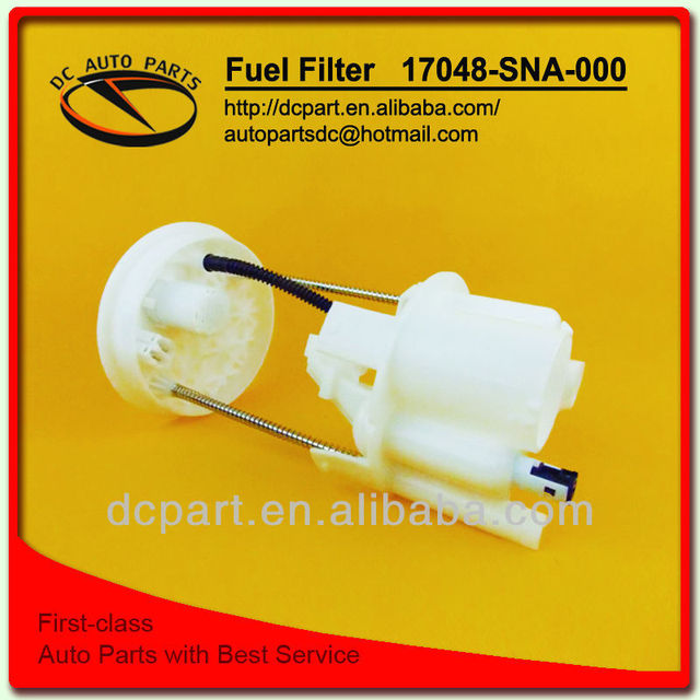 Fuel tank and tube fuel filter 17048-SNA-000 for honda Civic