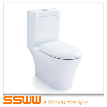 Floor Mounted Imperial European Toilets Bowl Siphon Jet Flushing