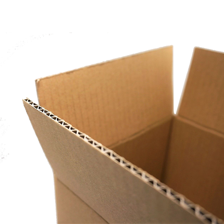 OEM custom standard size corrugated recycle empty fruit carton packaging box