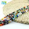 Fashion Alibaba Beads X0007 Mixed Color Cats Eye Gemstone Glass beads For Necklace
