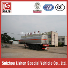 50000 liters capacity oil transportation tanker fuel tank semi trailer