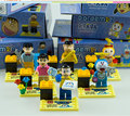 Cute Doll In Toys Doraemon Cartoon Mini Figures Lot Plastic Building Blocks Bricks Compatible With Lego