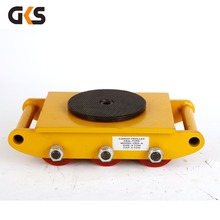 high quality heavy machine moving trolley skate carrying tank car